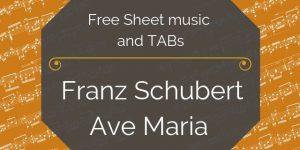 schubert ave maria free