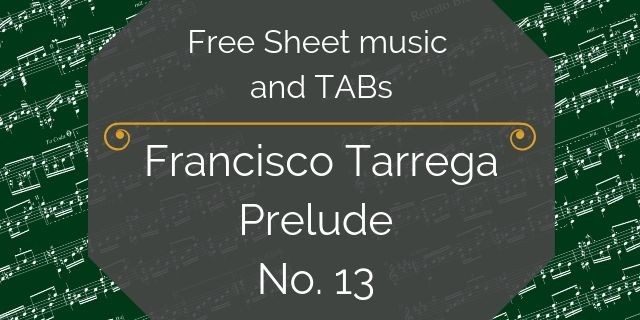 tarrega free music download