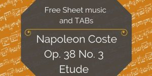 coste free classical guitar