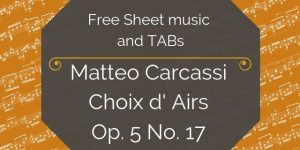carcassi free classical guitar music