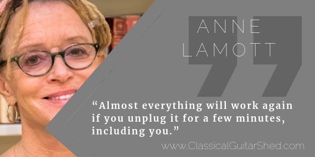 Anne Lamott learn practice