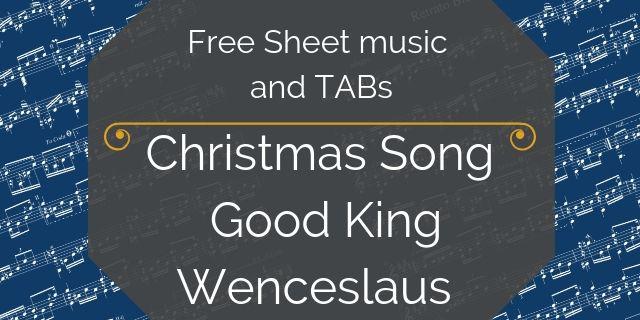free christmas music pdf