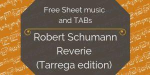 schumann guitar music download