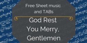 free christmas guitar arrangement