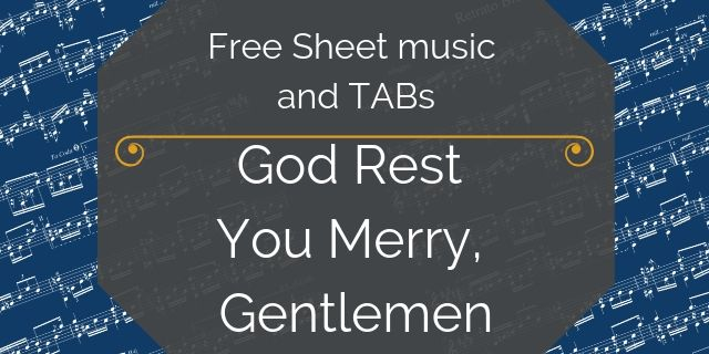 free christmas guitar arrangement