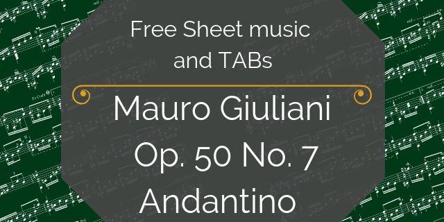 giuliani free guitar pdf