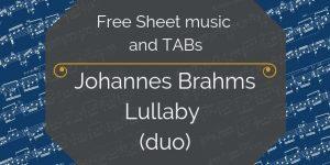 brahms free music pdf