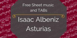 Albeniz asturias free download