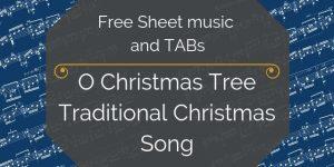 christmas guitar music pdf