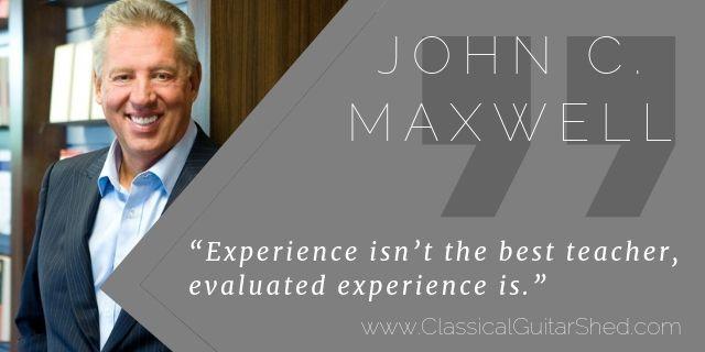John Maxwell teaching experience guitar