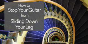 guitar slide on leg