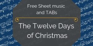 twelve days christmas music