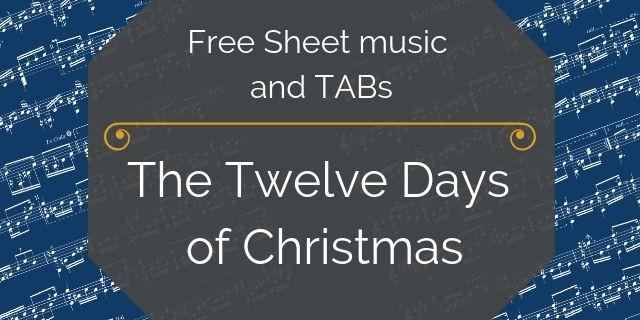 twelve days christmas music