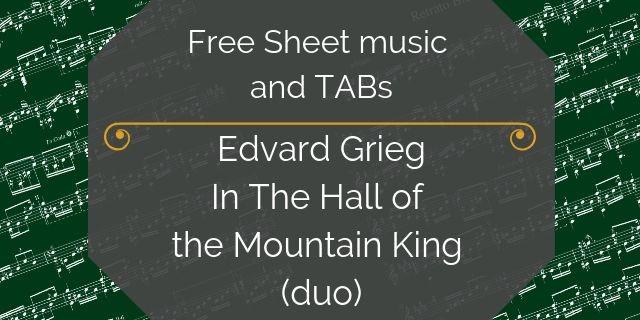 Grieg guitar duo king