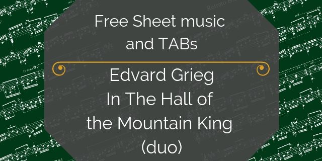 Grieg guitar duo king