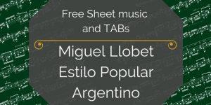 llobet free music pdf