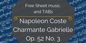 Coste sheet music download