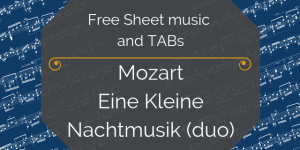 mozart duo free music