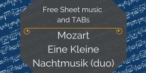 mozart duo free music