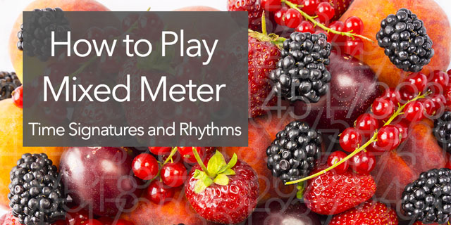 play mixed meter time signatures
