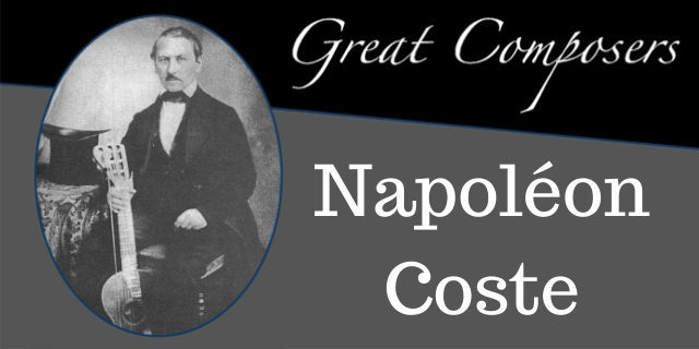 Napoleon Coste Composer Guitarist