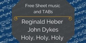 Heber dykes holy guitar pdf