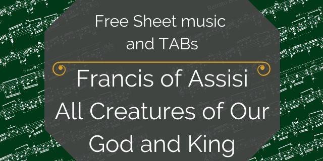Assisi free guitar pdf