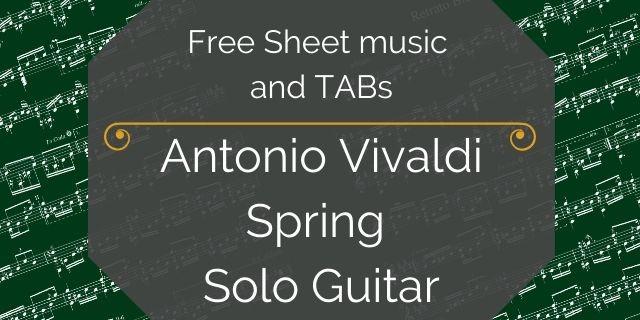 vivaldi free guitar pdf