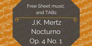mertz free guitar music