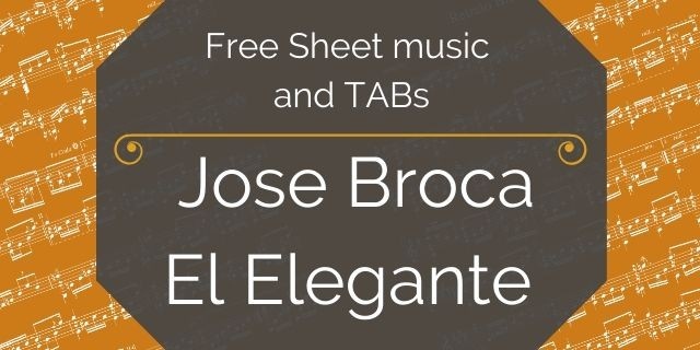 Broca free guitar pdf