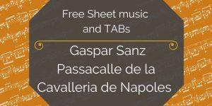 sanz passacalle download free