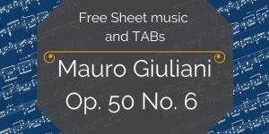 giuliani spanish guitar pdf