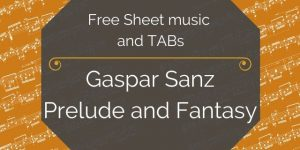 sanz free guitar pdf