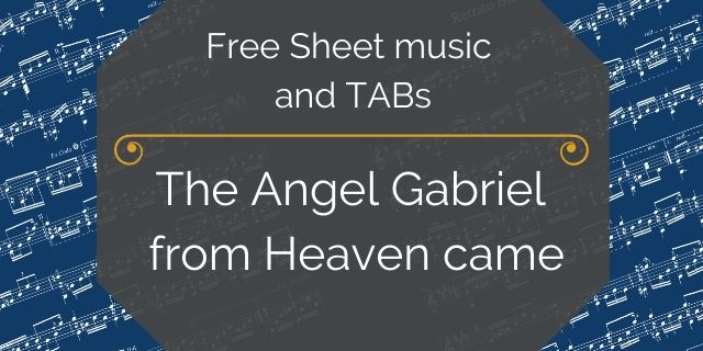 Angel Gabrriel guitar free