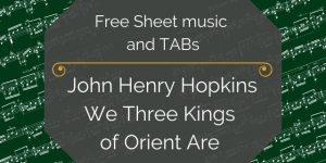 kings guitar holiday pdf