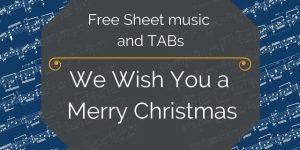 christmas guitar music free