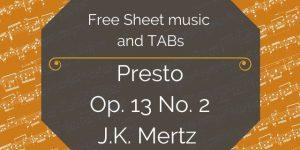 mertz presto free download