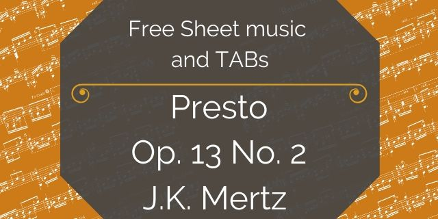 mertz presto free download