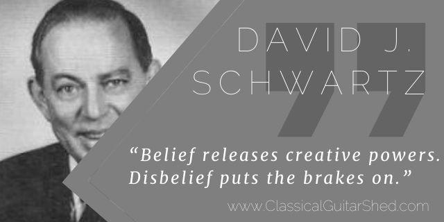 David Schwartz belief