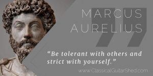 Marcus Aurelius Fostering Focus