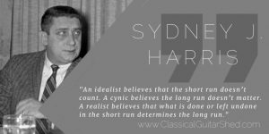 Sydney Harris Practice Realism