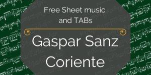 sanz spanish classical pdf