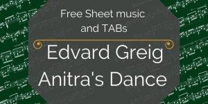 grieg guitar music pdf