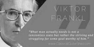 Viktor Frankl resilient guitar