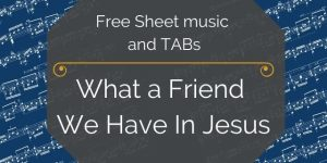 jesus friend guitar free