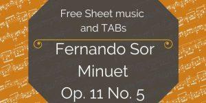 Sor spanish guitar pdf