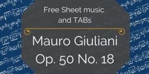 giuliani free music pdf