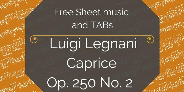 legnani free guitar pdf