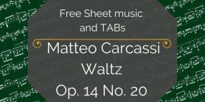 free guitar pieces carcassi