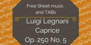 legnani music pieces download